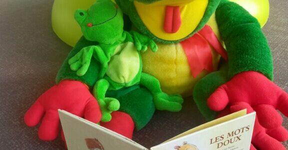 Les grenouilles qui lisent : les CE2-MS se donnent rendez-vous à la bibliothèque